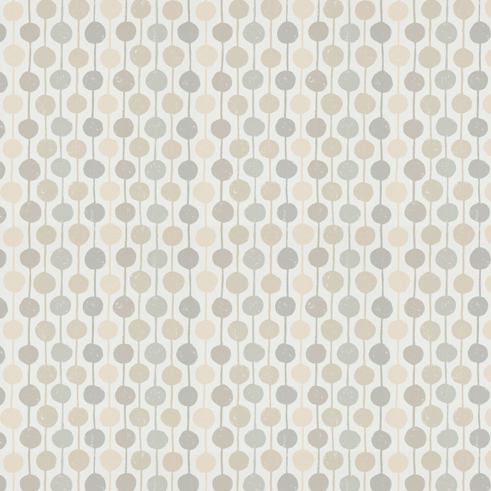 Scion Taimi Sesame, Putty and Blush Wallpaper - Product code: 111124