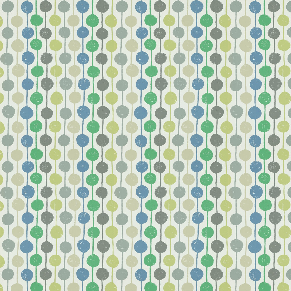 Taimi Wallpaper - Apple, Ivy and Slate - by Scion
