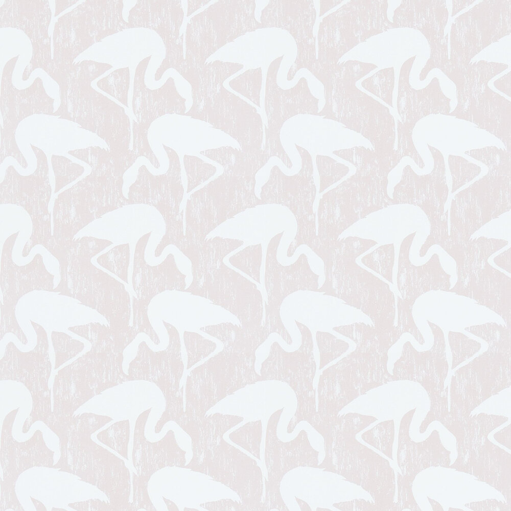 Sanderson Flamingos Blush / Ivory Wallpaper - Product code: 214565