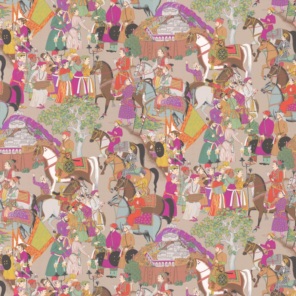 Manuel Canovas Dara Taupe Wallpaper - Product code: 3074/02