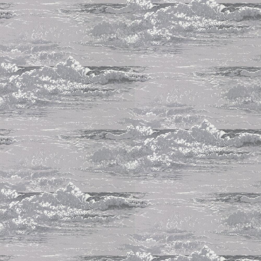Osborne & Little Marmara Silver & Slate Wallpaper - Product code: W6756/03