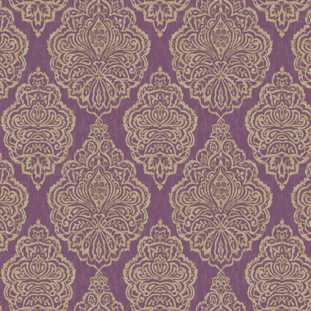 Zellige Wallpaper - Jewel - by Prestigious