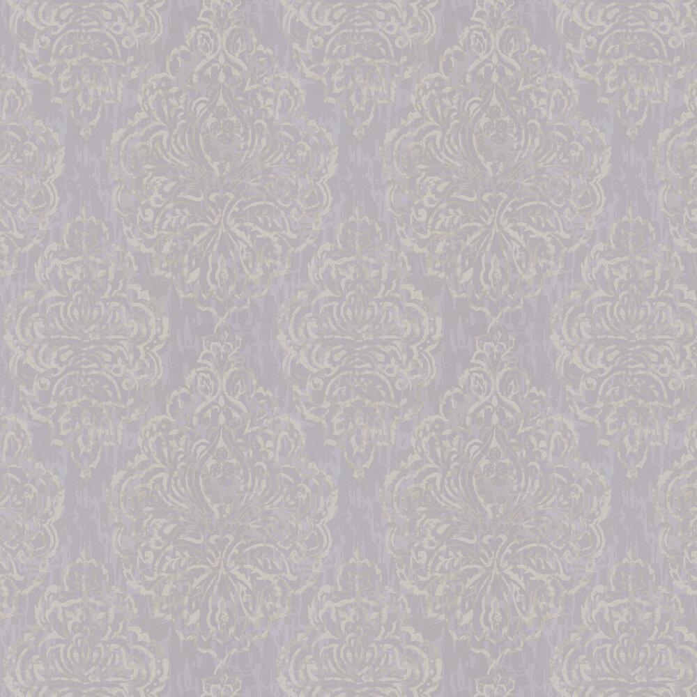 Zellige Wallpaper - Platinum - by Prestigious