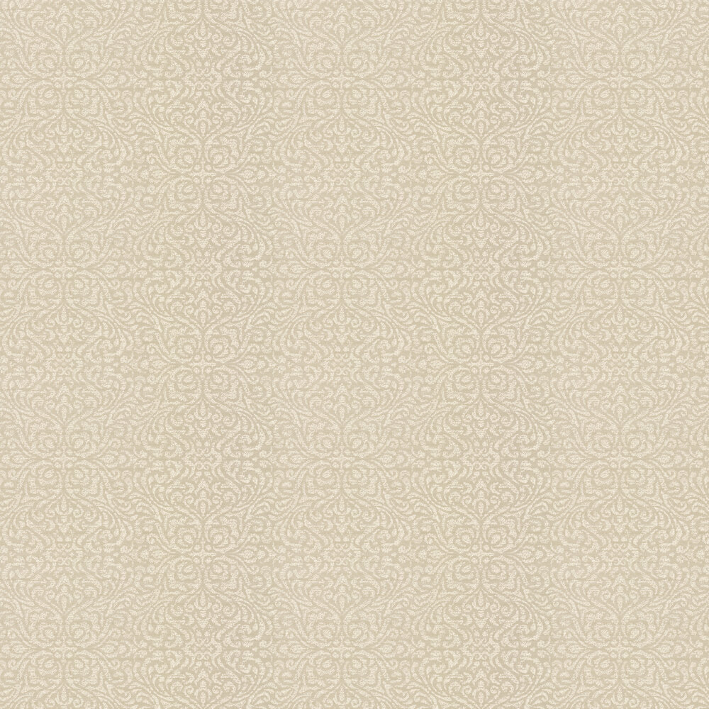 Bakari Wallpaper - Ivory - by Prestigious