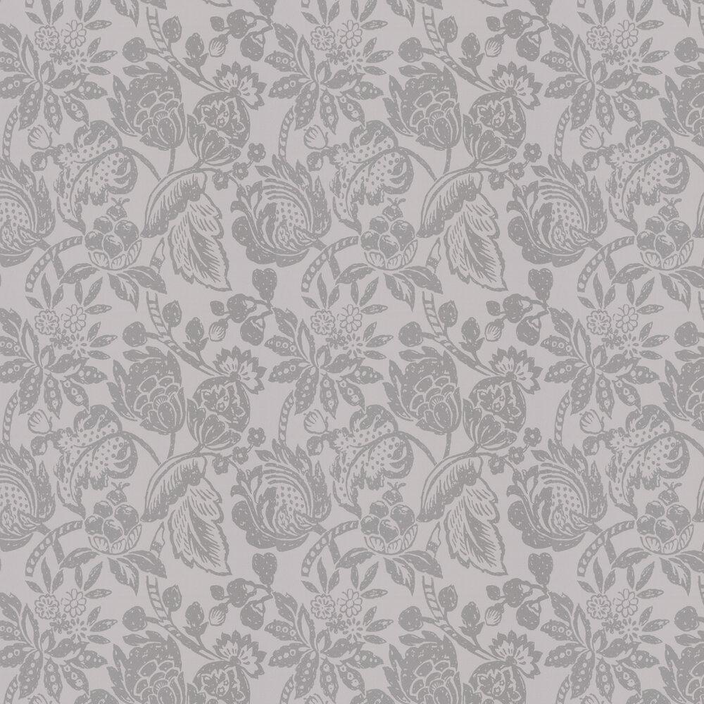 Saphir Wallpaper - Platinum - by Prestigious