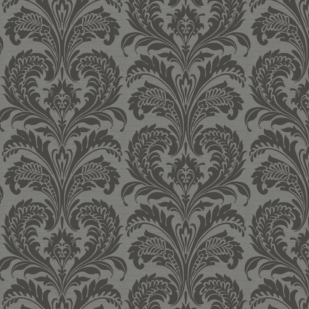 Tavertina Wallpaper - Charcoal - by SketchTwenty 3