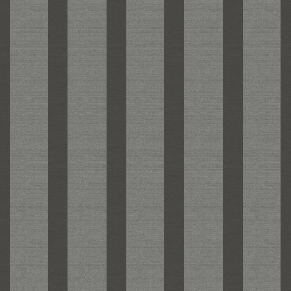 SketchTwenty 3 Wide Stripe Charcoal Wallpaper - Product code: CO00109