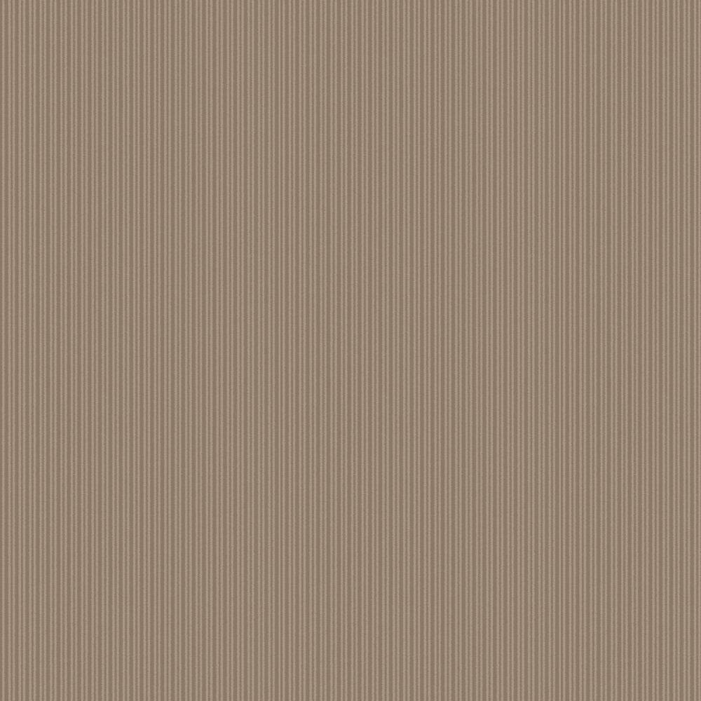 SketchTwenty 3 Cotton Stripe Latte Wallpaper - Product code: CO00126