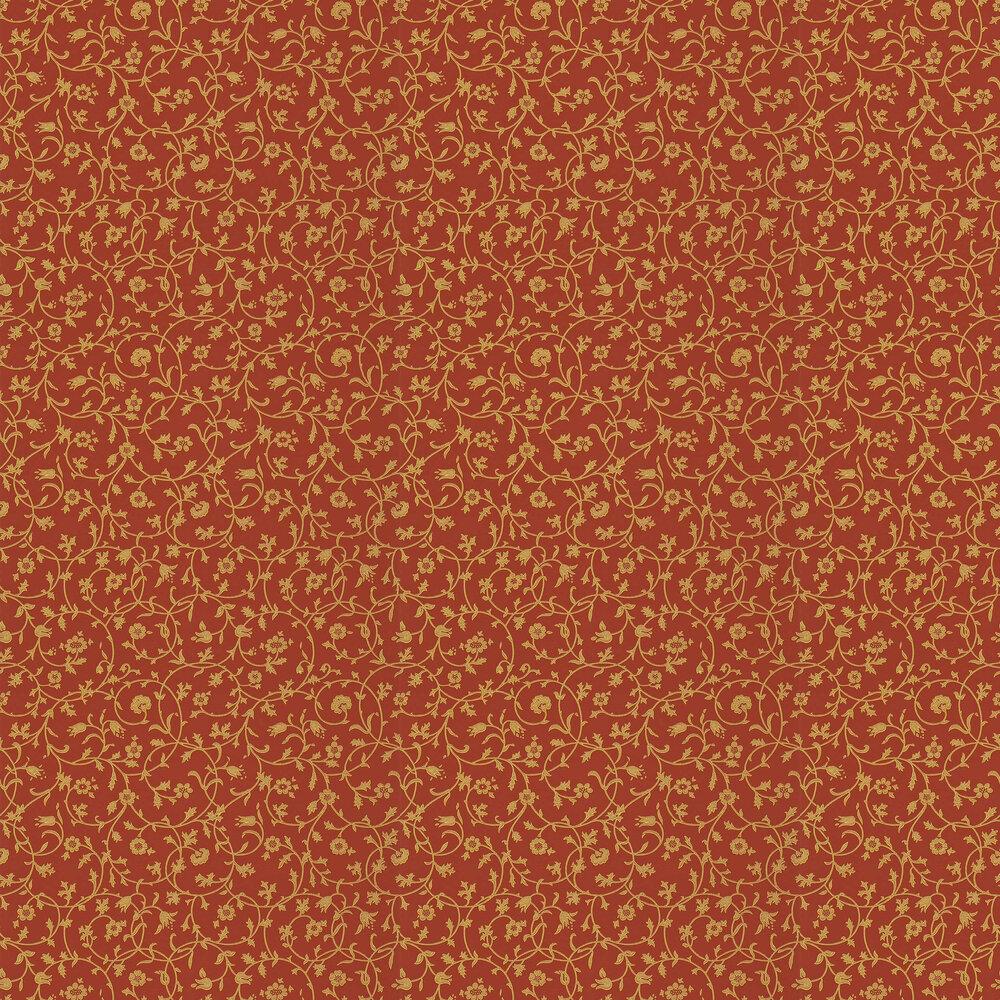 Morris Medway Terracotta Wallpaper - Product code: WM8555/4