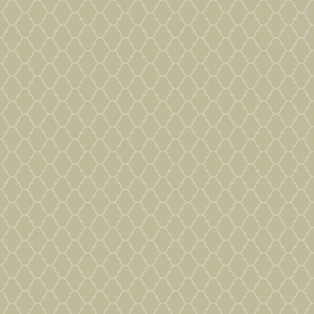 Moroccan Wallpaper - Olive - by SketchTwenty 3