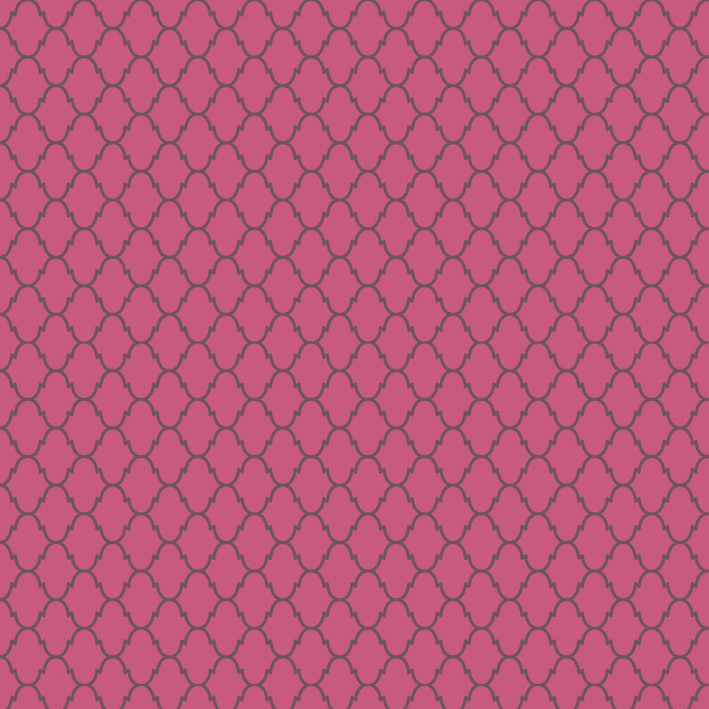 Moroccan Beaded Wallpaper - Pink - by SketchTwenty 3