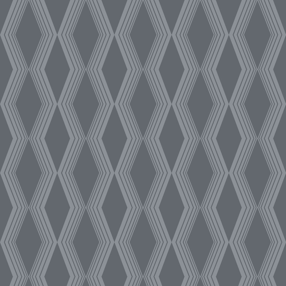 Concertina Wallpaper - Charcoal - by SketchTwenty 3