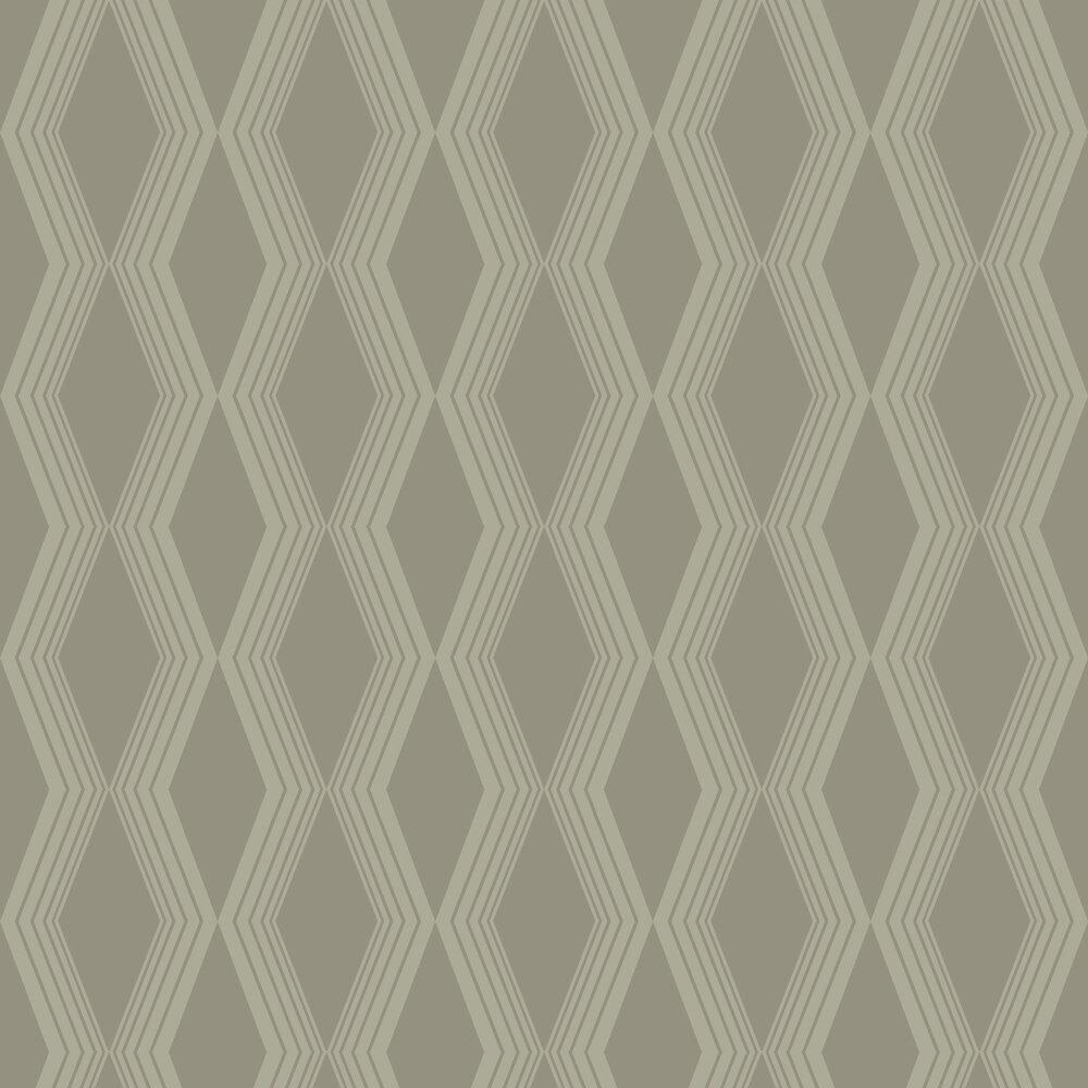 Concertina Wallpaper - Olive - by SketchTwenty 3