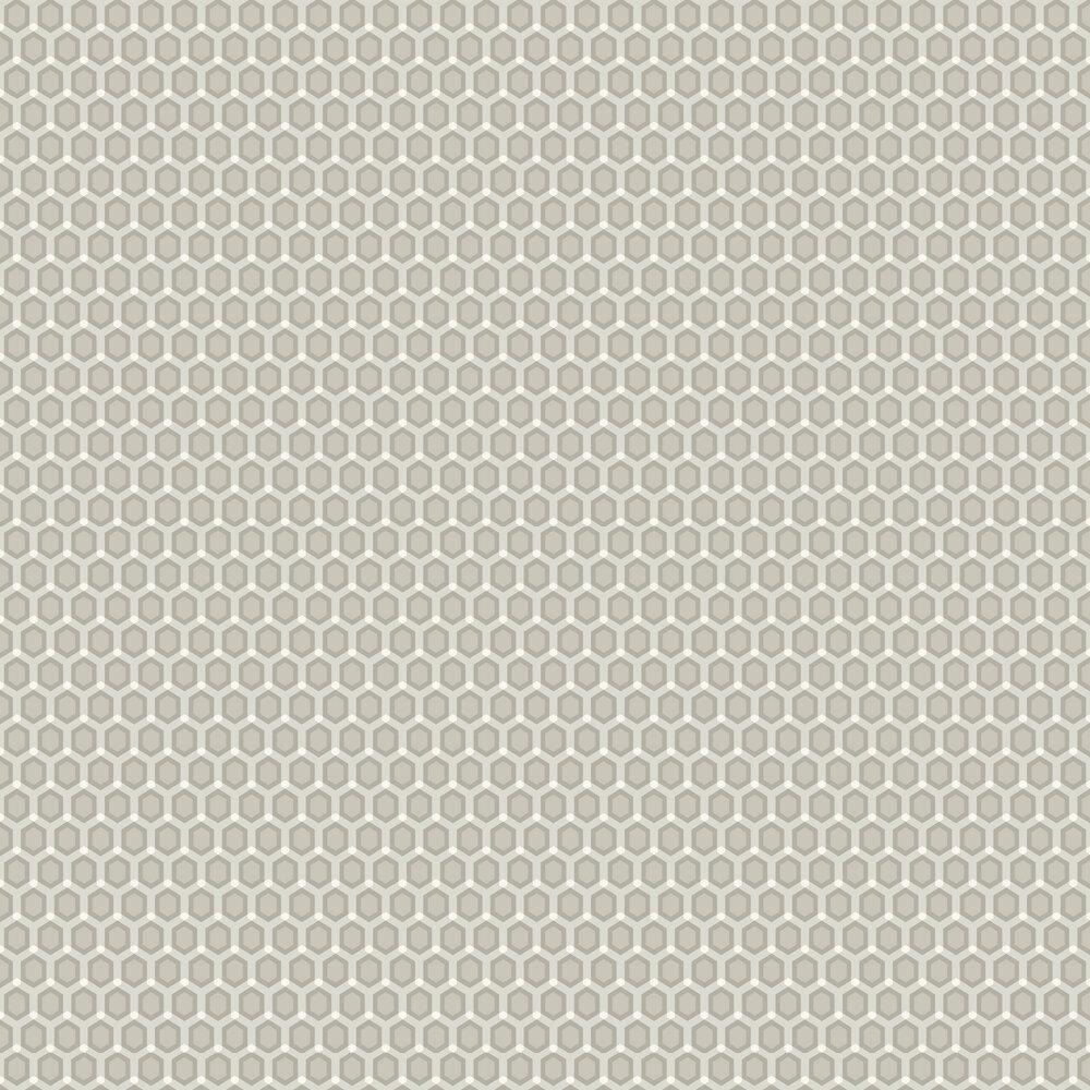 Honeycomb Wallpaper - Neutral - by SketchTwenty 3