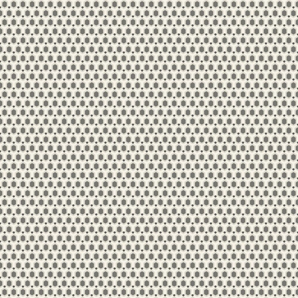Honeycomb Wallpaper - Latte - by SketchTwenty 3