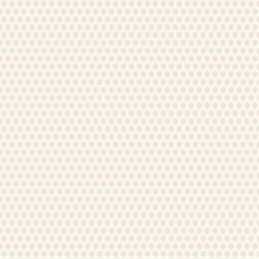 Honeycomb Wallpaper - Ivory - by SketchTwenty 3