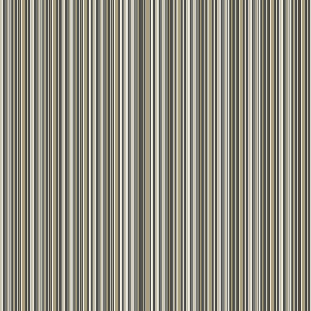 Decadent Stripe Wallpaper - Olive - by SketchTwenty 3