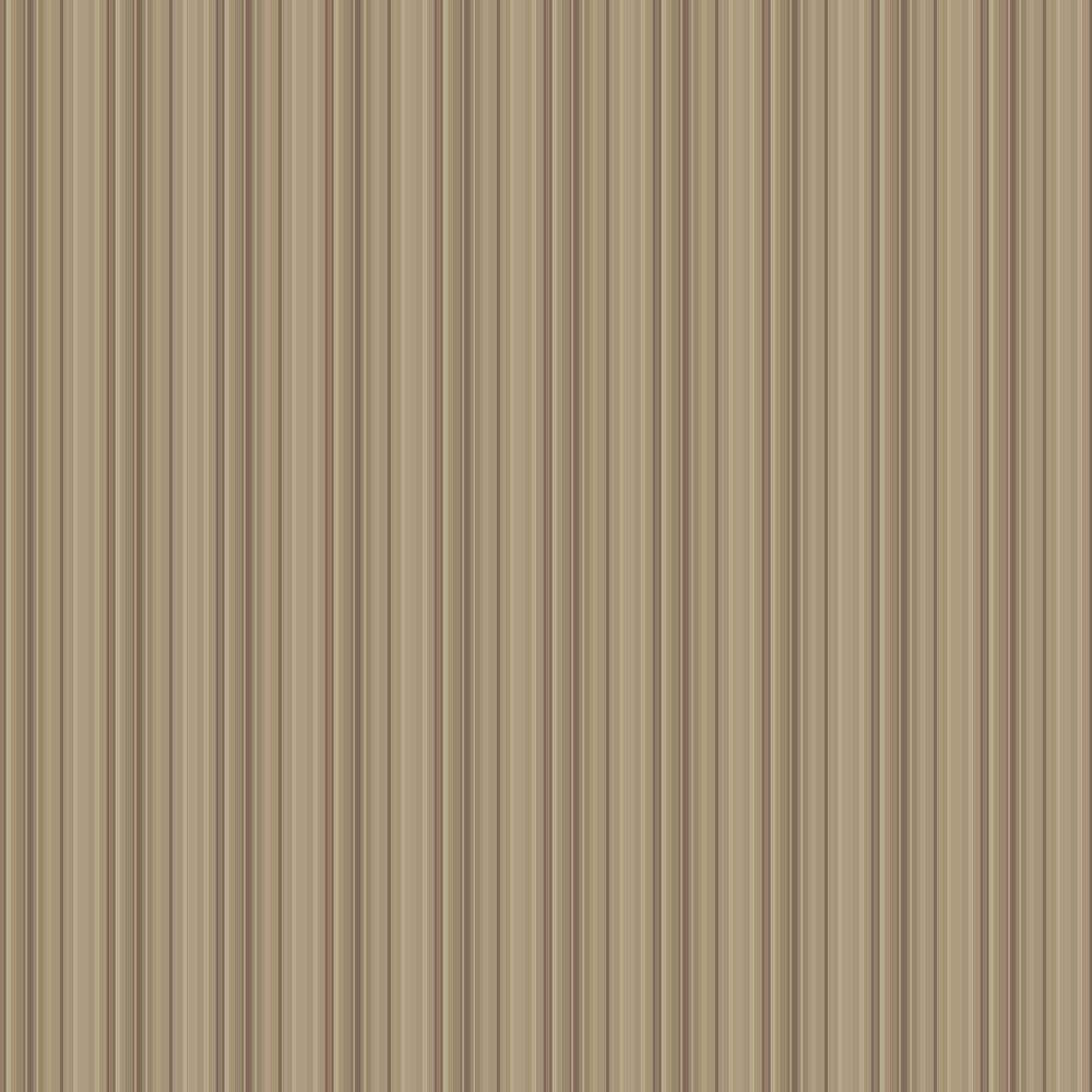 Decadent Stripe Wallpaper - Latte - by SketchTwenty 3