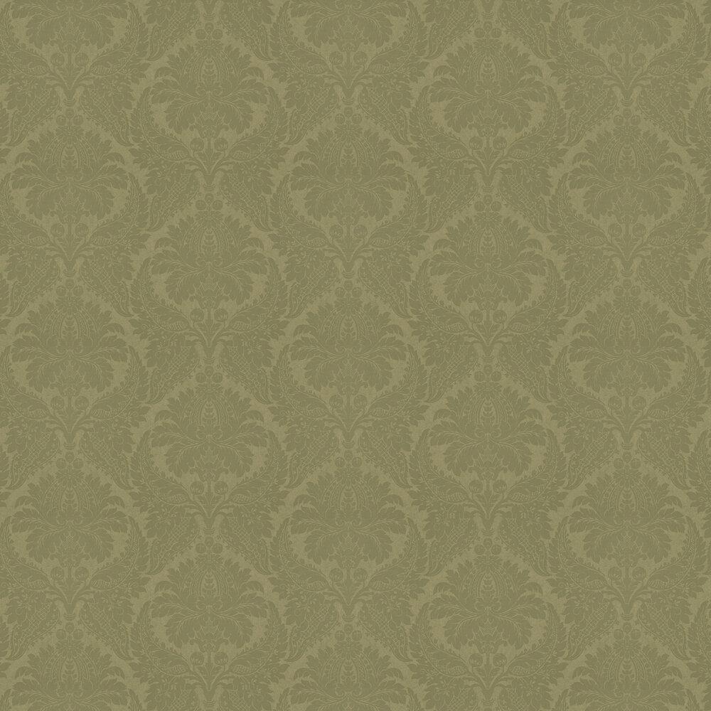 Malmaison Wallpaper - Old Gold - by Zoffany