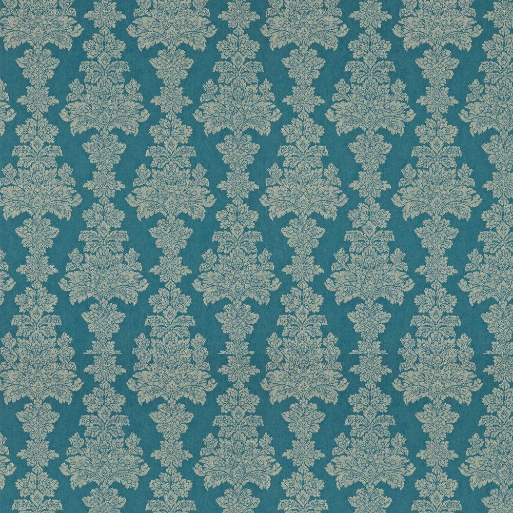 Katarina Wallpaper - Peacock - by Zoffany