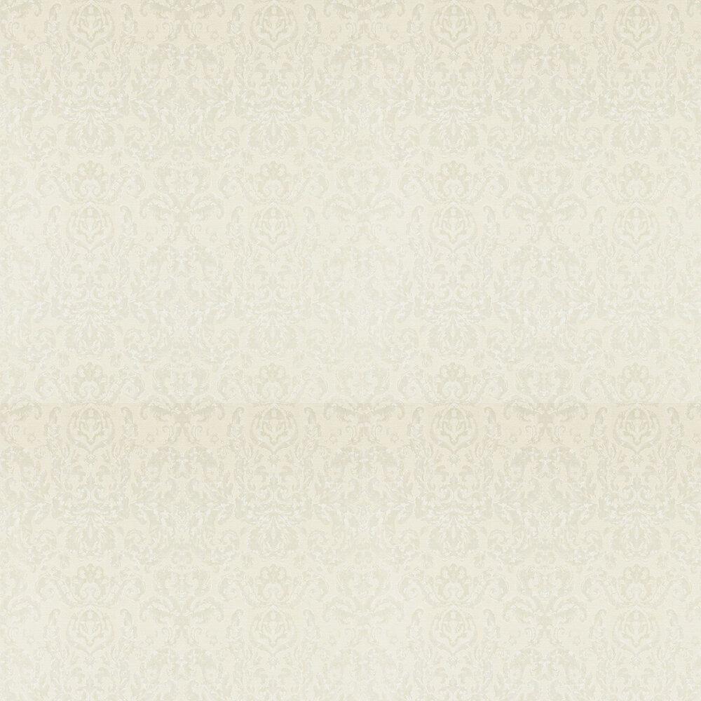 Brocatello Wallpaper - Chalk - by Zoffany