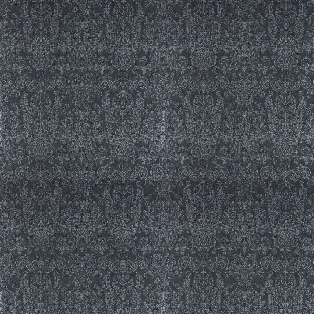 Brocatello Wallpaper - Anthracite  - by Zoffany