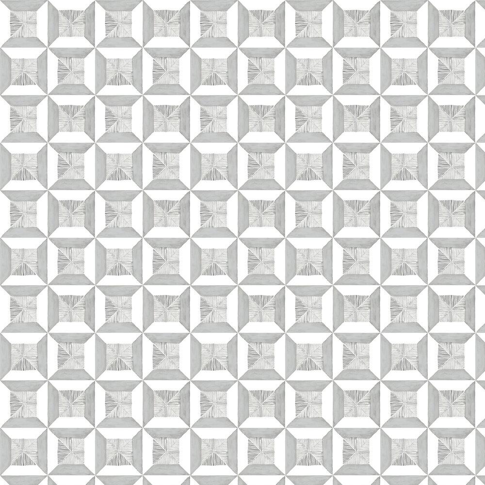Louise Body Peggy Tile Flint Wallpaper - Product code: Peggy Tile Flint