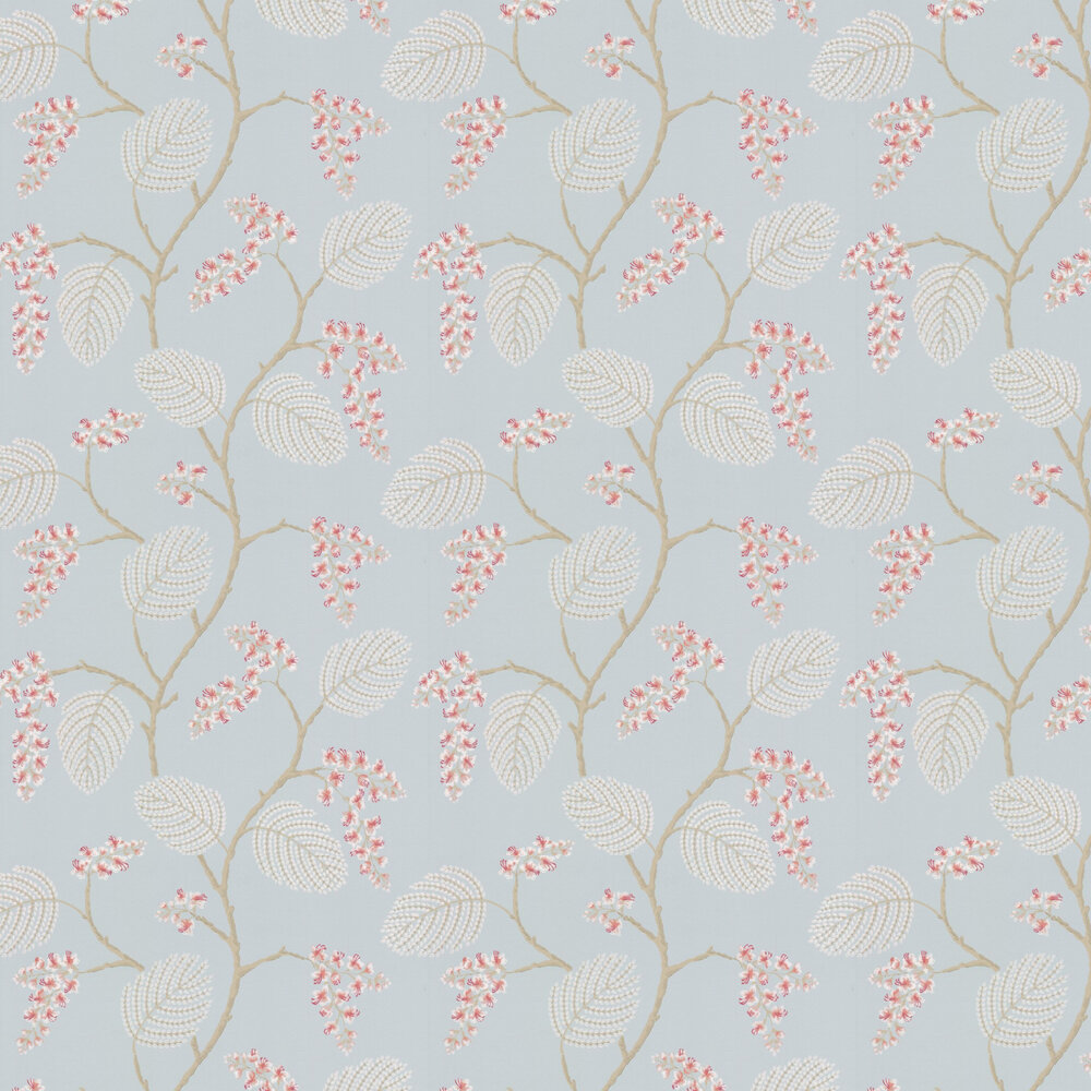 Atwood Wallpaper - Old Blue - by Colefax and Fowler