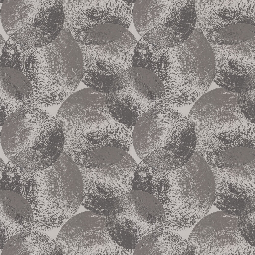 Ellipse Wallpaper - Slate / Graphite - by Anthology