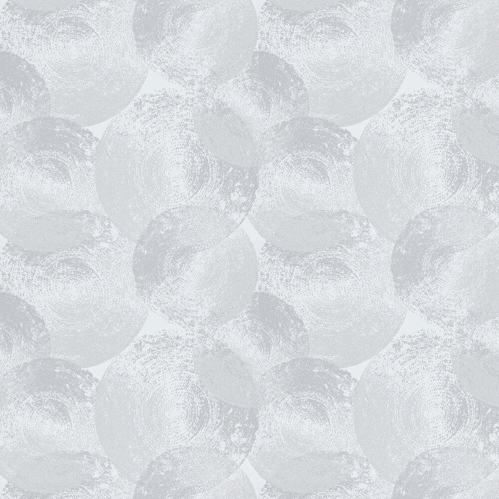 Ellipse Wallpaper - Silver / Quartz - by Anthology