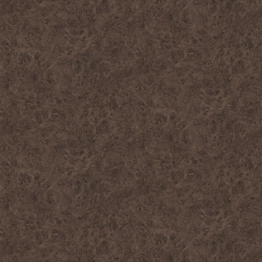 Lacquer Wallpaper - Walnut - by Anthology