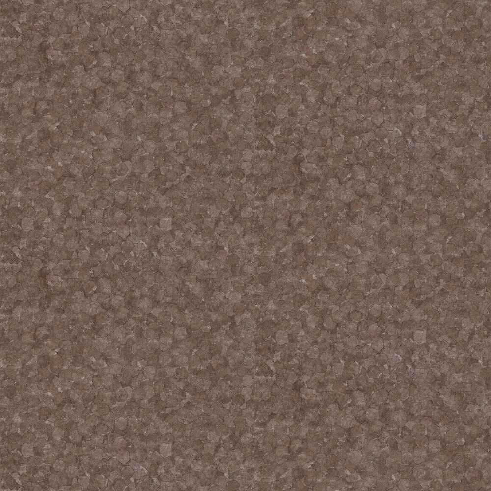 Kinetic  Wallpaper - Walnut - by Anthology