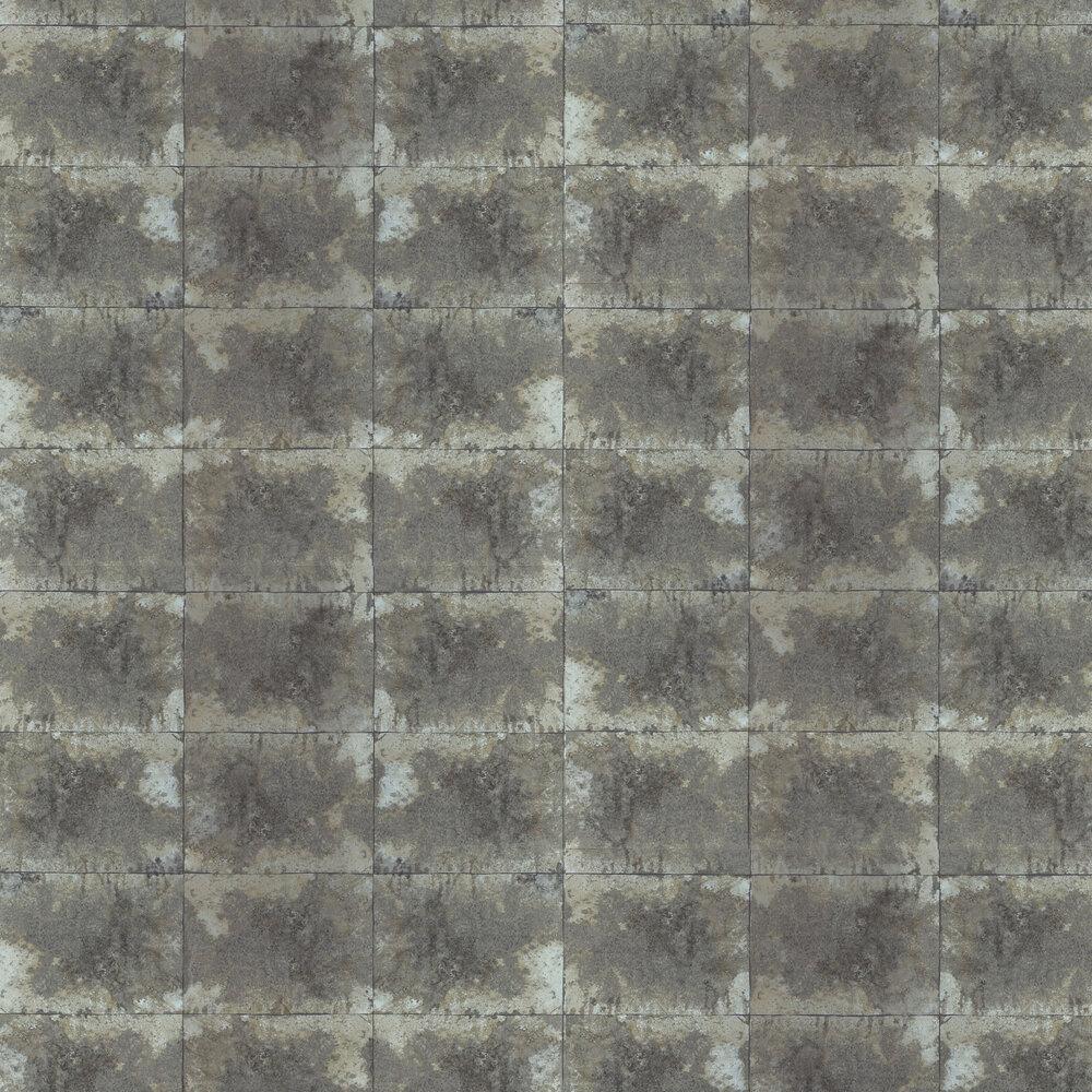 Oxidise Wallpaper - Mink / Silver - by Anthology