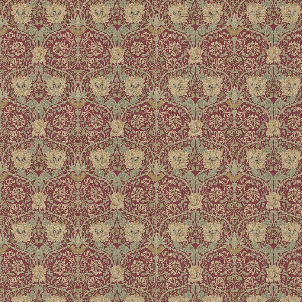 Morris Wallpaper Honeysuckle and Tulip 214700