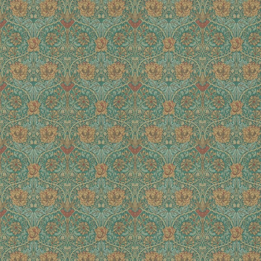 Morris Wallpaper Honeysuckle and Tulip 214704