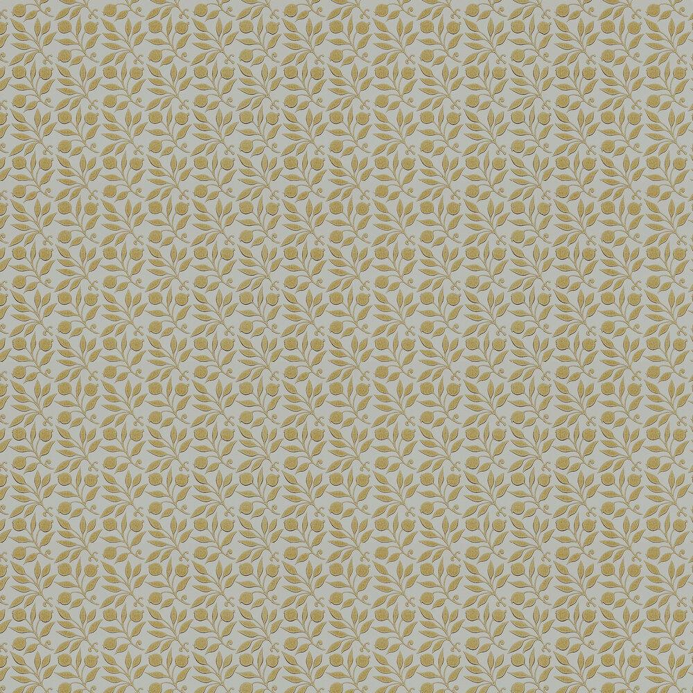 Rosehip Wallpaper - Cowslip - by Morris