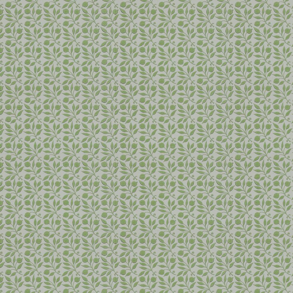 Rosehip Wallpaper - Thyme - by Morris