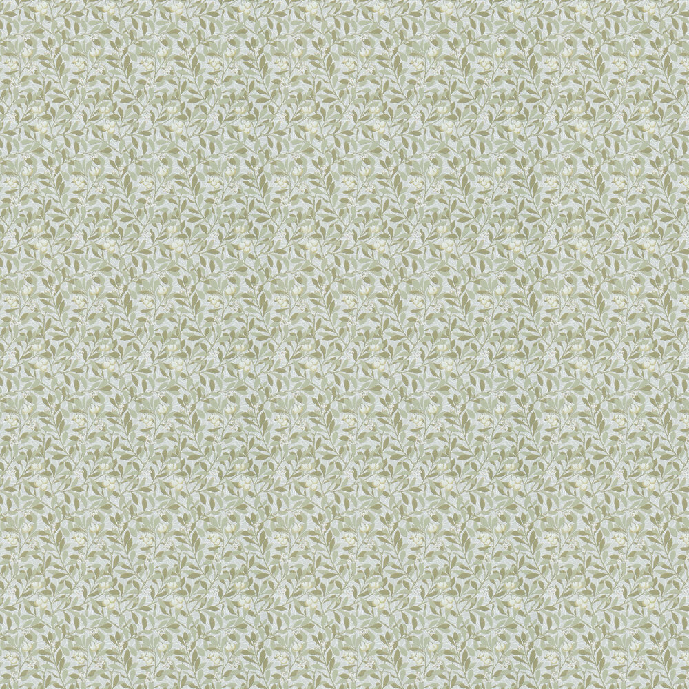 Arbutus Wallpaper - Linen / Cream - by Morris