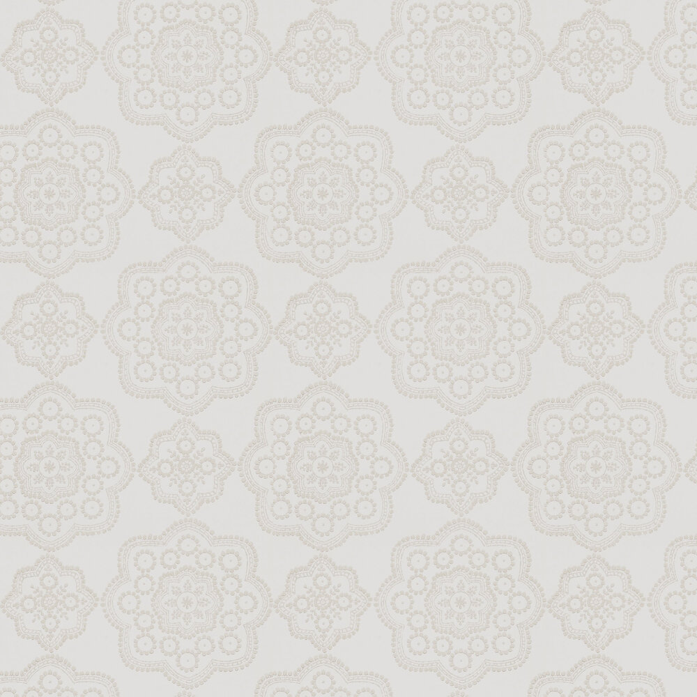 Odetta Wallpaper - Jute  - by Harlequin