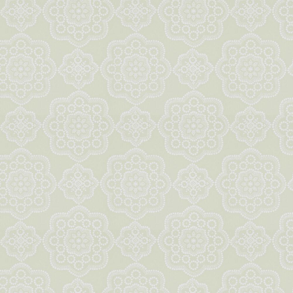 Odetta Wallpaper - Avacado - by Harlequin