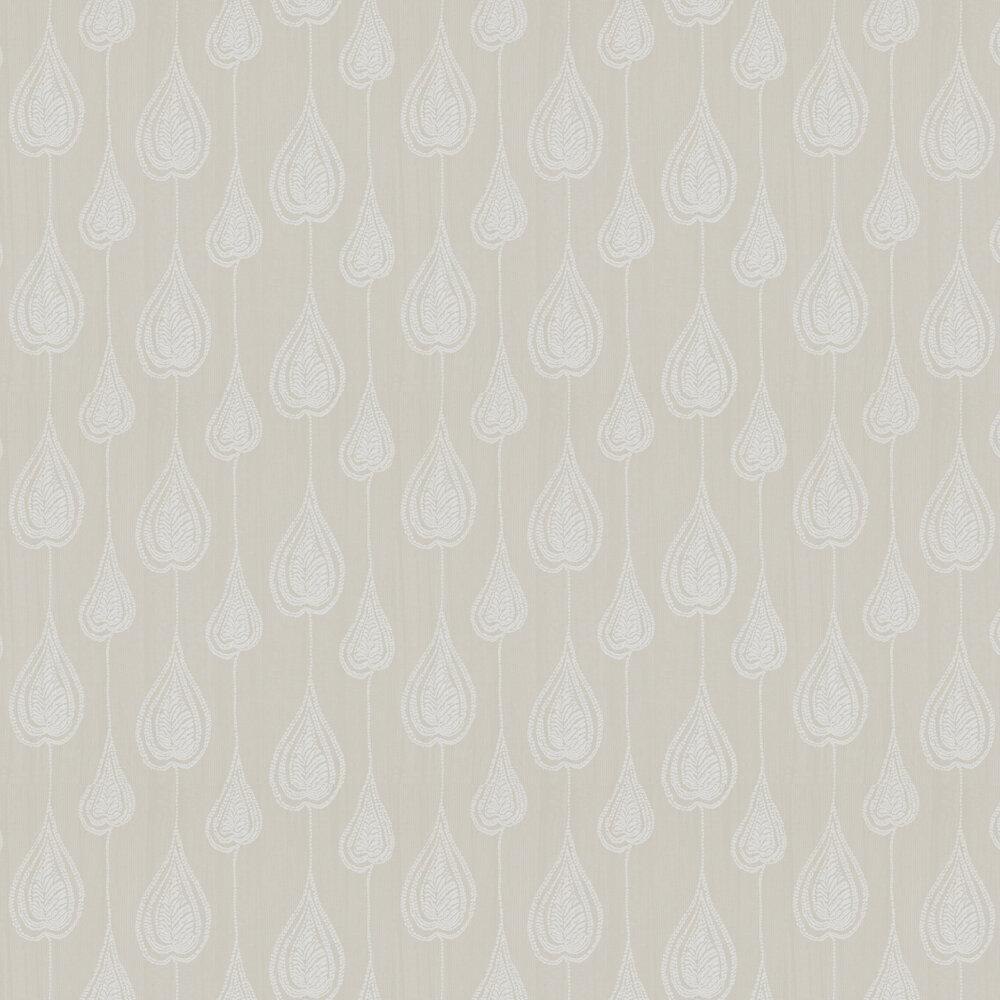 Gigi Wallpaper - Oatmeal - by Harlequin