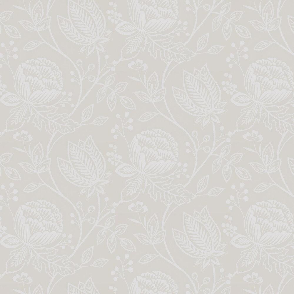 Mirabella Wallpaper - Linen - by Harlequin