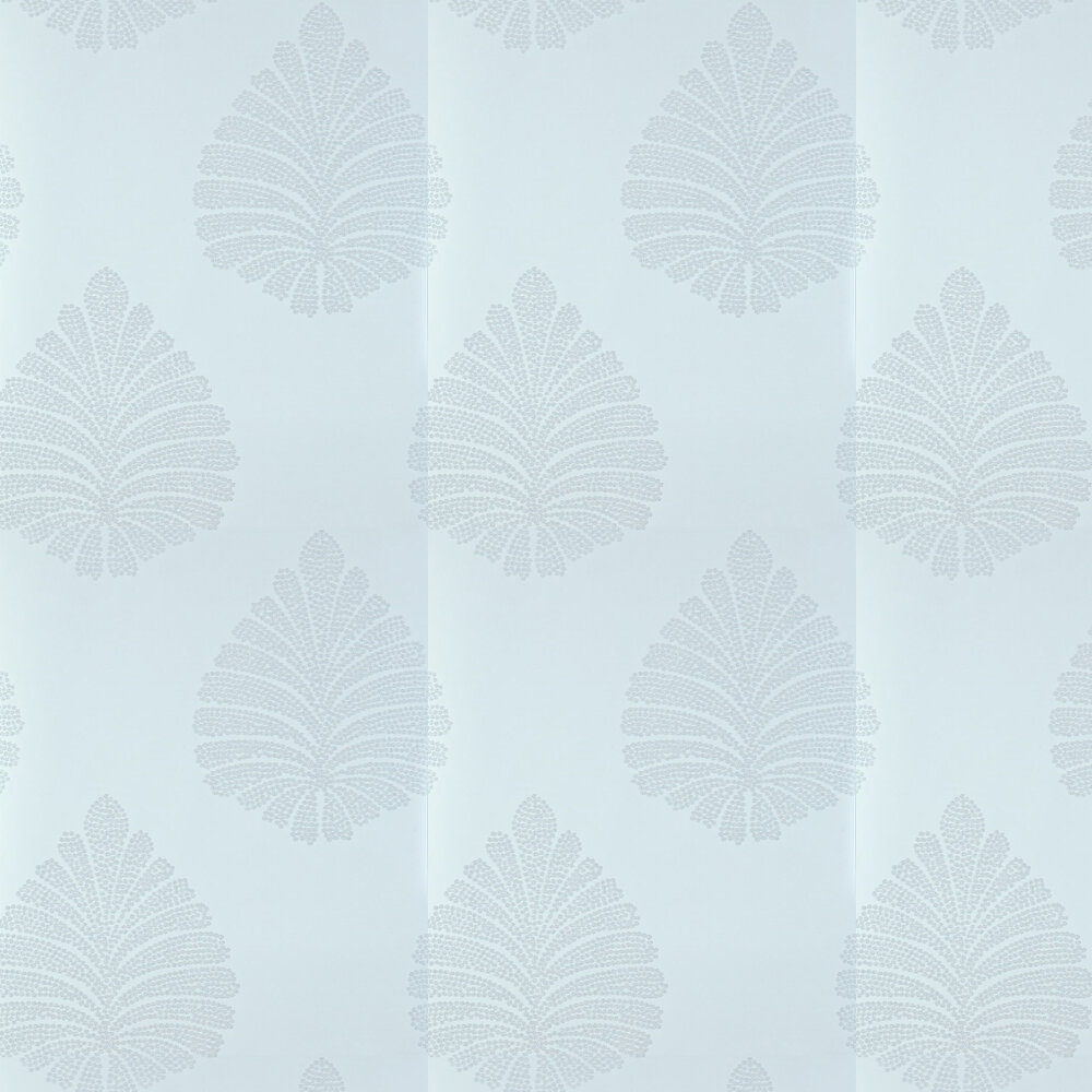 Kamille Wallpaper - Powder Blue - by Harlequin