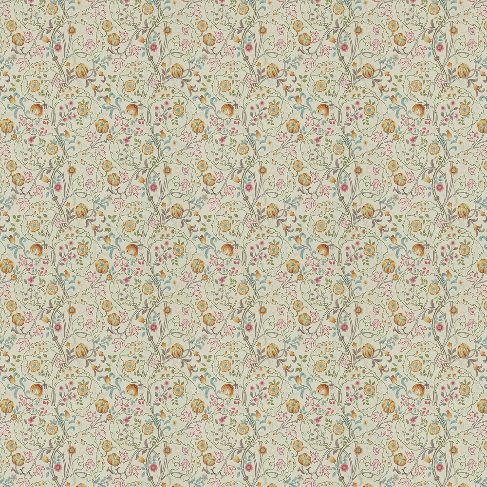 Morris Mary Isobel Russet / Taupe Wallpaper - Product code: 214730