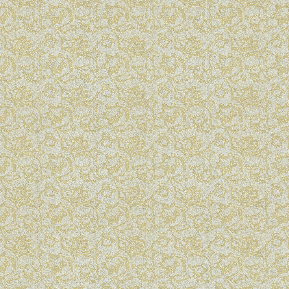 Bachelors Button Wallpaper - Gold - by Morris