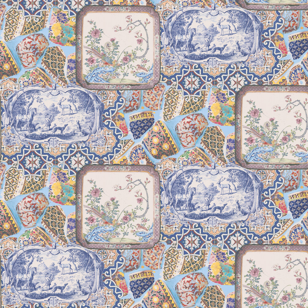 Mulberry Home Mulberry China Multi Wallpaper - Product code: FG080Y101