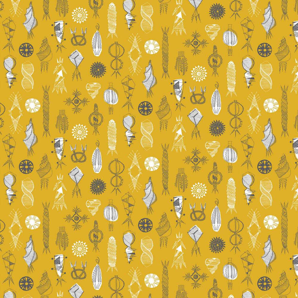 Mini Moderns Equinox Mustard Wallpaper - Product code: AZDPT026MU