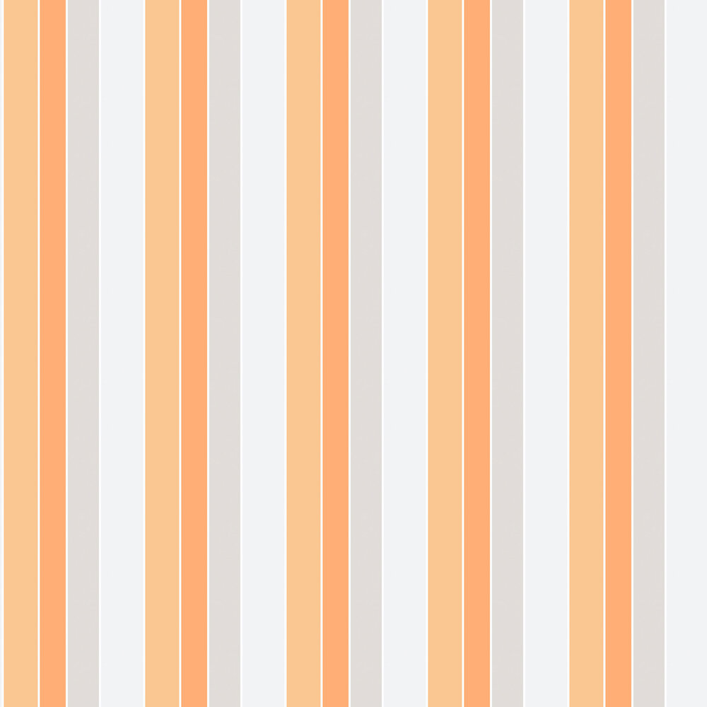Galerie Tempo Stripe Orange Wallpaper - Product code: G56324