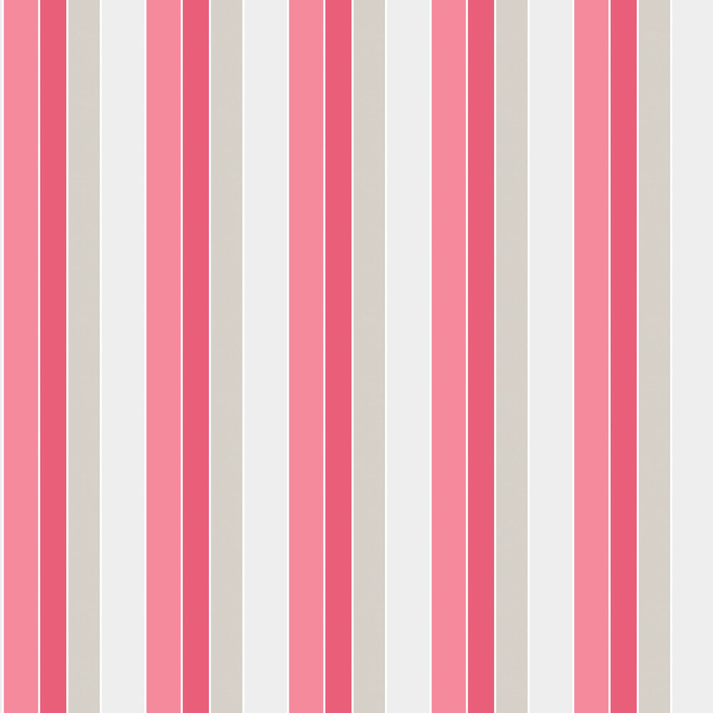 Galerie Tempo Stripe Red Wallpaper - Product code: G56325