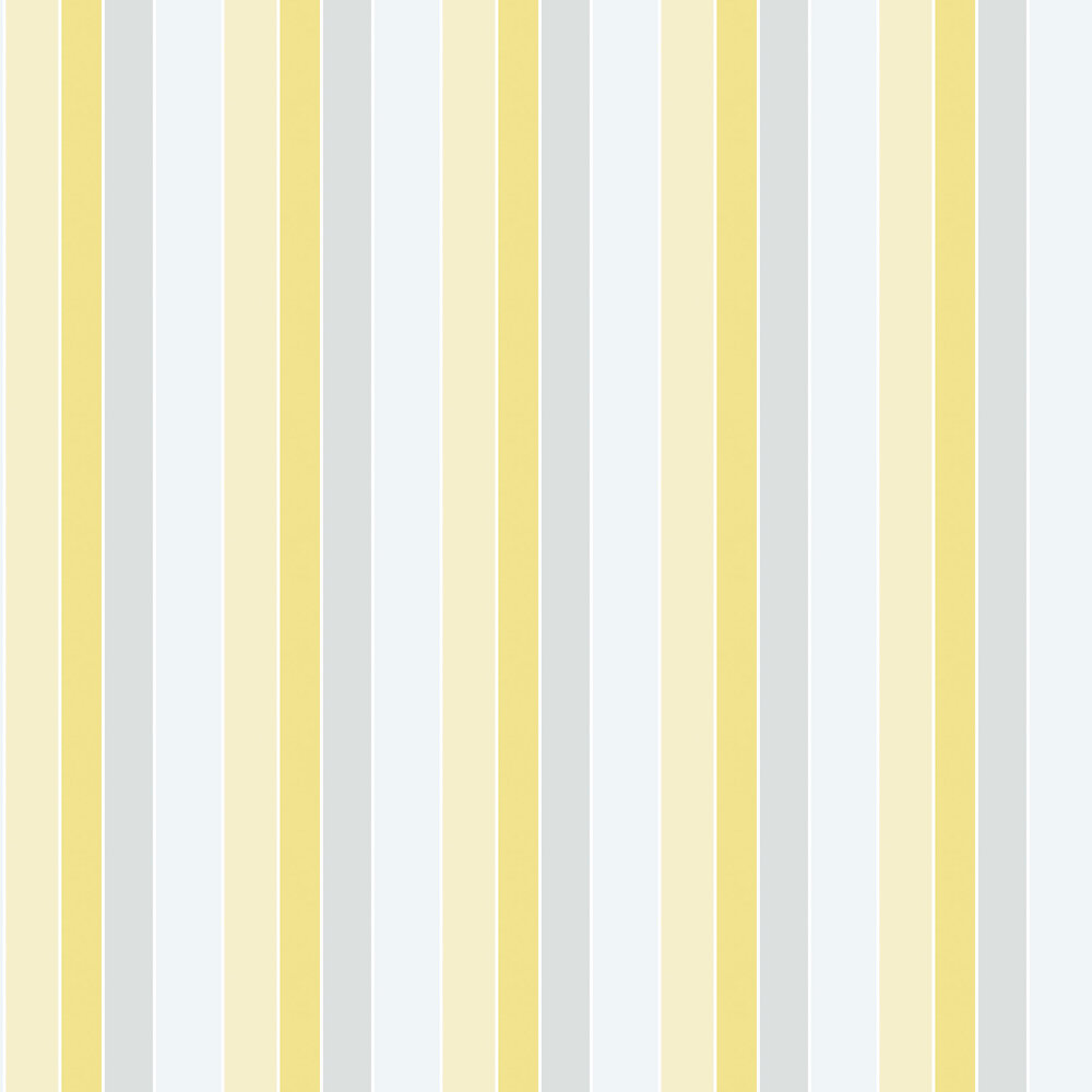 Galerie Tempo Stripe Yellow Wallpaper - Product code: G56327